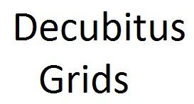 Decubitus X-Ray Grids